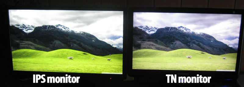 ips monitor vs tn monitor