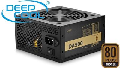 Power Supply Gamemax 450watt Psu Gp 450 80 Plus Bronze 14cm Fan Unit Deepcool Da500 500w