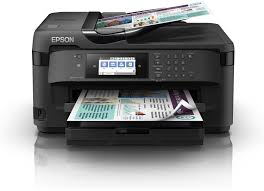 МФУ Epson WorkForce WF-7710DWF (Printer-copier-scaner-fax, купить Бишкек, Кыргызстан