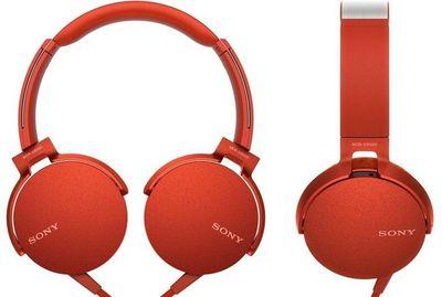 накладные наушники Sony Extra Bass